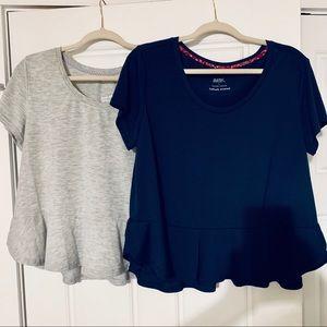Gilligan & O'Malley Peplum Sleep T-Shirts